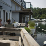 Living on the water at Bluffer's Park Marina.