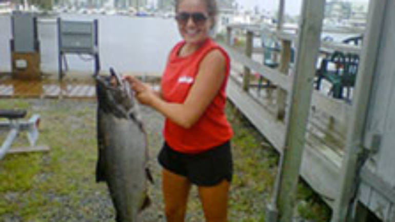 """Bluffers the Reel Deal Again! 3 """"Great Ontario Salmon Derby"""" Grand Prize Winners!"""